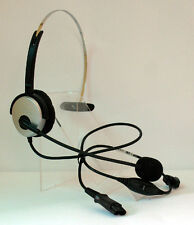 CALL CENTER HEADSET FOR PANASONIC KX-T7730 noise cancelling 1 ear headset 2.5mm