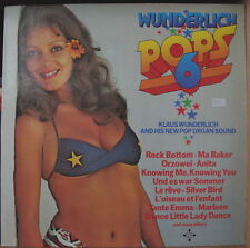 KLAUS WUNDERLICH POPS 6 SEXY CHEESECAKE COVER GERMAN PRESS LP