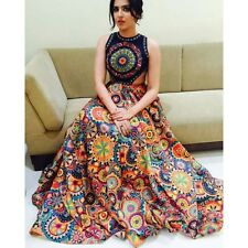 Indian Stylish Designer Bollywood Party Print Lehenga Choli Salwar Suit Dress