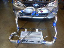 Front Mount Intercooler Kit +BOV For 4th Generation 2011+ Subaru Impreza WRX STi