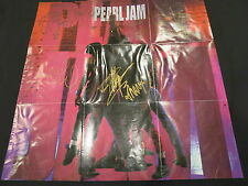 PEARL JAM SIGNED TEN BY ALL 5 COA + PROOF! EDDIE VEDDER MIKE MCCREADY JEFF AMENT