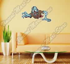 """Warning Zombie Outbreak Monster Wall Sticker Room Interior Decor 25""""X14"""""""