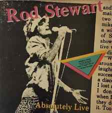 ROD STEWART - Absolutely Live (LP) (VG-/G++)
