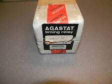 AGASTAT 2412AF Timing Relay, .5 - 10 Min, 120 VAC, 240 VAC 1/4HP Contact Rating
