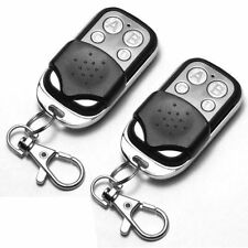 2 x Universal Cloning Remote Control Key Fob for Car Garage Door Electric Gate