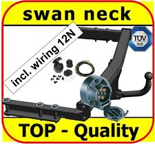Towbar & Electric 12N Audi A6 Saloon Estate Avant 4B C5 1997 to 2005 / swan neck