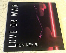 "FUN KEY B. (LP) -  ""LOVE OR WAR"" [GER / 1988 / PEPPERMINT PARK] M-"