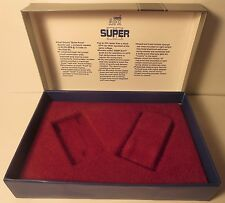 AURORA AFX SUPER II SLOT CAR BOX & PLASTIC INSERT & DIAGRAM THUNDERJET T-JET