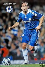 "FRANK LAMPARD ""RUNNING FOR F.C. CHELSEA"" POSTER - Premier League Football/Soccer"
