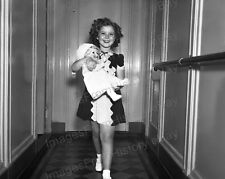 8x10 Print Shirley Temple Cute Little Shirley with Her Doll #ST17