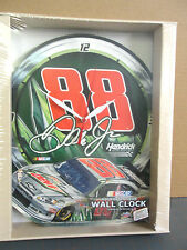 DALE EARNHARDT JR #88 DIET MOUNTAIN DEW HIGH DEFINITION Plaque Clock