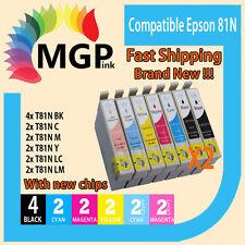14x Generic ink cartridge 81/81N 82N for Epson Stylus R290 R390 RX590 RX610 T50