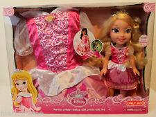 MY FIRST DISNEY PRINCESS AURORA TODDLER DOLL & DRESS 3-4T SLEEPING BEAUTY NEW
