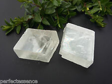 Optical Ice Calcite (Iceland Spar) Natural Crystal Specimen - 30-40mm