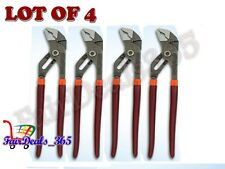 """BRAND NEWLOT OF 4PCS 8"""" PLIERS TONGUE GROOVE WATER PUMP SLIP JOINT VISE GRIP"""