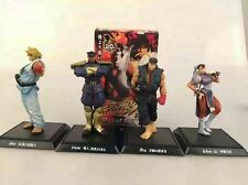 "Street Fighter 4 Pcs/Set Vega Ryu Chun-Li Ken 4"" Figure Statue Toy Collectibles"