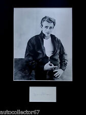 JAMES DEAN signed autograph PHOTO DISPLAY Rebel Without a Cause