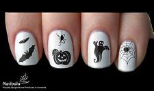 Halloween Nail Art Sticker Water Transfer Decal Tattoo 02