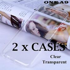 2 x Pieces - Transparent Clear TPU Rubber Soft Skin Case Cover for HTC ONE A9