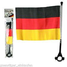 Fanartikel EM WM 2016 Fußball Deutschland Germany FLAGGE FÜR FAHRRÄDER