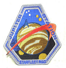 "Star Trek: Starfleet R&D JUPITER STATION 3"" Logo Patch -FREE S&H  (STPA-SFC-7)"