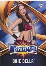 #42 BRIE BELLA 2017 Topps WWE Road Wrestlemania ROSTER