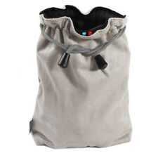 MICROFIBER CLEANER POUCH Soft Case Sleeve Bag Grey /M for Camera Body Lens Flash