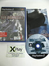 PS2 Sub Rebellion Pal España completo no platinum
