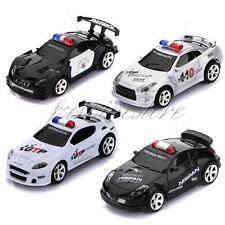 New Four Color Mini Remote Control R/C Police Car with LED Light