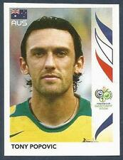 PANINI FIFA WORLD CUP-GERMANY 2006- #422-AUSTRALIA-TONY POPOVIC