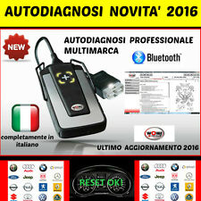 DIAGNOSI AUTO UNIVERSALE PROFESSIONALE W.0.W  NOVITA´ 2016 AUTODIAGNOSI + DATA