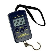40Kg/10g Portable Electronic LCD Digital Luggage Hanging Weight Hook Scale
