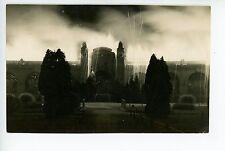 Interesting European RPPC Pyrotechnics War? Fireworks? Bomb? Antique Photo 1910s