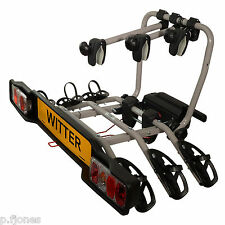 Witter ZX303 Tow Bar Mounted 3 / Three Bike Cycle Carrier Bicycle Rack