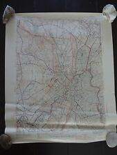 1944 - ANTIQUE Map of Patterson Quadrangle - New Jersey