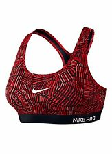 BNWT Women's Nike Tidal Medium Support Bra Top Red Sz XL 726935 657