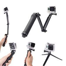 3 Way Waterproof Monopod Pole Selfie Stick camera tripod mount GoPro Hero4 3+3 2