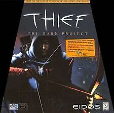 Thief: The Dark Project Rare Big Box PC Game by Eidos and Looking Glass Complete