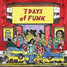 7 Days of Funk [PA] [Digipak] by 7 Days of Funk (CD, Dec-2013, Stones Throw)