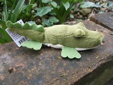CROCODILE FINGER PUPPET soft toy NEW Animals of Australia - story prop?