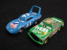 Disney Cars The King Strip Weathers & Chick Hicks 1/55 Diecast No Box
