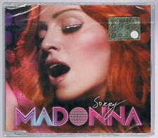 MADONNA SORRY 3  TRACKS CD SINGLE SINGOLO cds SIGILLATO!!!