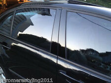 CHRYSLER TOWN&COUNTRY BLACK HIGH GLOSS PILLAR POSTS 2008-2014 (4 PIECE SET)