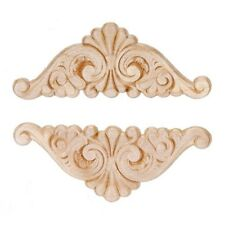 Fan Wing Ding Wood Appliques-Wood Crafts-Decorative Wood-2pcs
