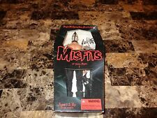 Doyle Wolfgang Von Frankenstein SIGNED Misfits Action Figure Doll Toy Danzig WOW
