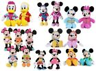 """NEW 12"""" DISNEY MICKEY MOUSE SOFT TOY MINNIE MOUSE SOFT TOY DONALD DUCK SOFT TOY"""