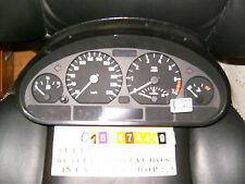 tacho kombiinstrument bmw e46 3er 62116911286 bosch cluster cockpit clock