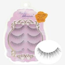 From JAPAN Miche Bloomin False eyelash 4pairs Regular line Rich mix wing
