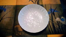 Meissen small white plate water birds embossed