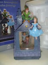 Large Disney Peter Pan You Can Fly Light Up House Snowglobe with Blower Wendy